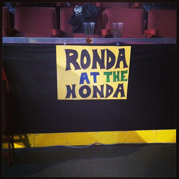 Ronda at the Honda
